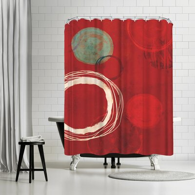 Tracie Andrews At the Centre of it All Shower Curtain