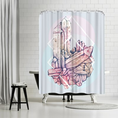 Tracie Andrews Crystalline 2 Shower Curtain