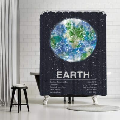 Tracie Andrews Earth Shower Curtain