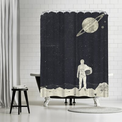 Tracie Andrews Explorer Shower Curtain