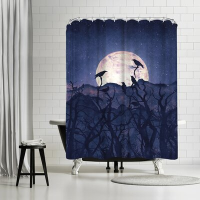 Tracie Andrews Midnight Chorus Shower Curtain