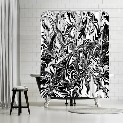Tracie Andrews Obsius Shower Curtain