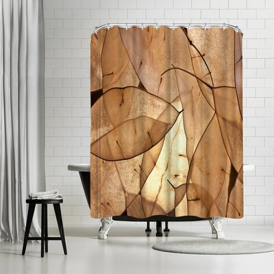 Maja Hrnjak Leaves 1 Shower Curtain