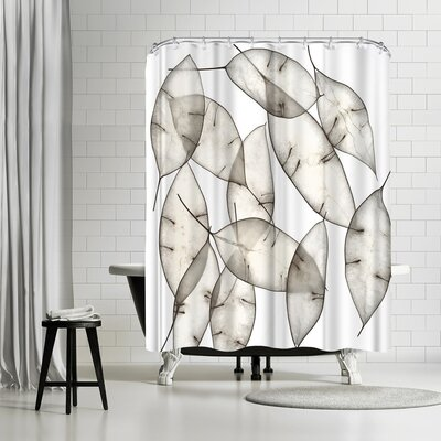 Maja Hrnjak Leaves 7 Shower Curtain