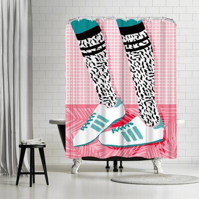 Wacka Designs Aiight Shower Curtain