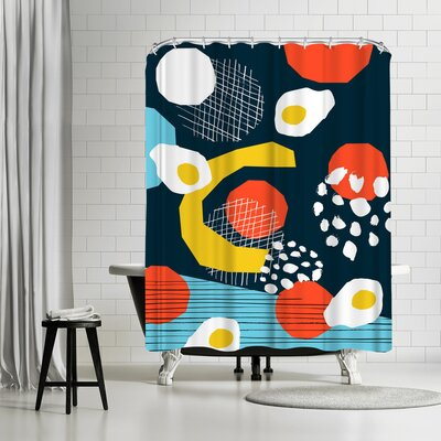 Wacka Designs Clutch Shower Curtain