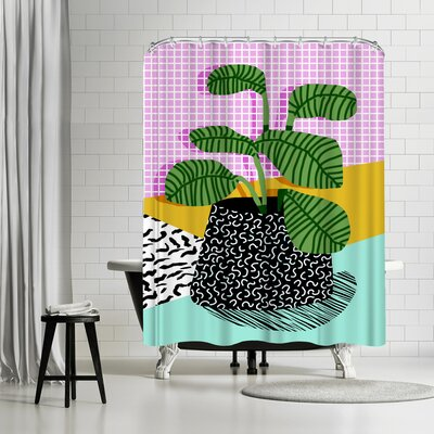 Wacka Designs Decent Shower Curtain