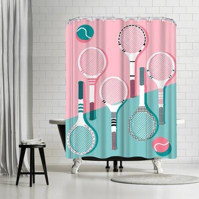 Wacka Designs Got Served Shower Curtain