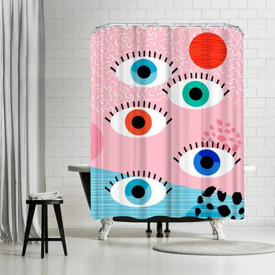 Wacka Designs Noob Shower Curtain