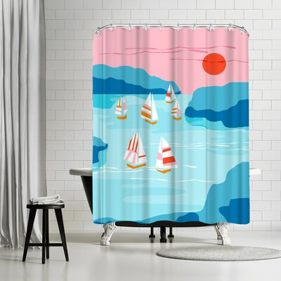 Wacka Designs Tight Shower Curtain