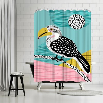 Wacka Designs What Shower Curtain