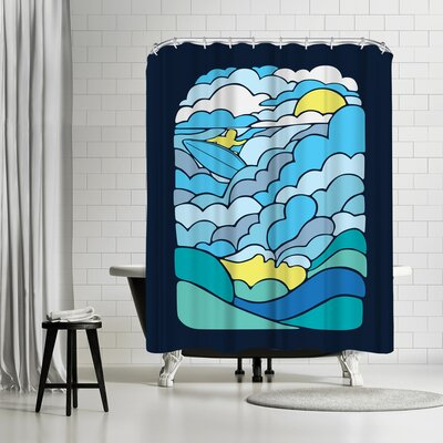 Joe Van Wetering Cloudsurfing Shower Curtain