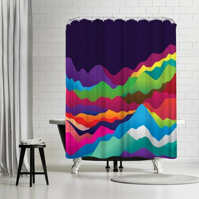 Joe Van Wetering Mountains of Sand Shower Curtain