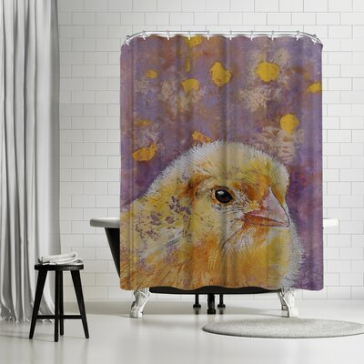 Michael Creese Chick Shower Curtain