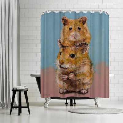 Michael Creese Hamsters Shower Curtain