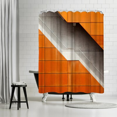 1x Steel Shower Curtain