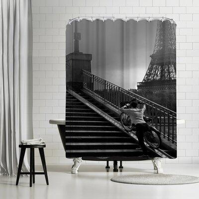 1x Eiffel Shower Curtain