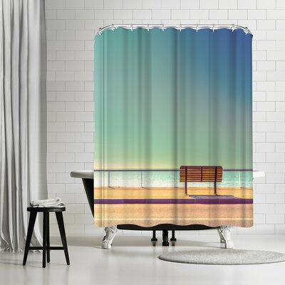 1x The Bench Shower Curtain