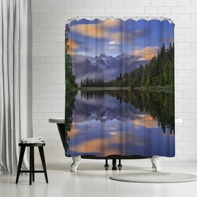 1x Lake Matheson Shower Curtain