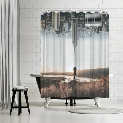 Luke Gram Between Earth & Sky Shower Curtain