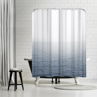 Luke Gram Snow on the Lake Shower Curtain