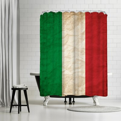 Wonderful Dream Italy Flag Shower Curtain