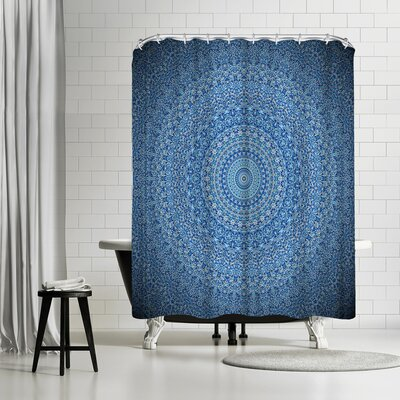 Wonderful Dream Mandala Buddha Shower Curtain