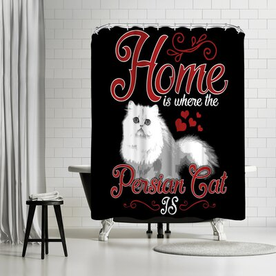 Wonderful Dream Persian Cat Pet Shower Curtain