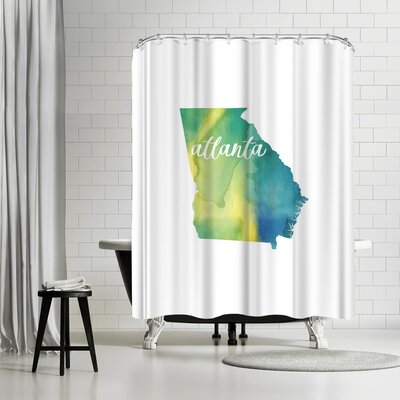 Paperfinch GA Atlanta Shower Curtain