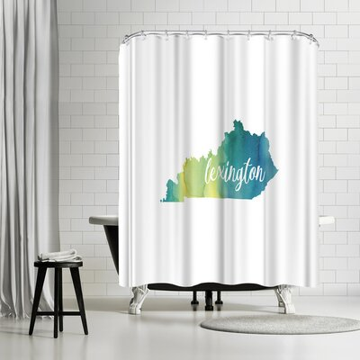 Paperfinch KY Lexington Shower Curtain
