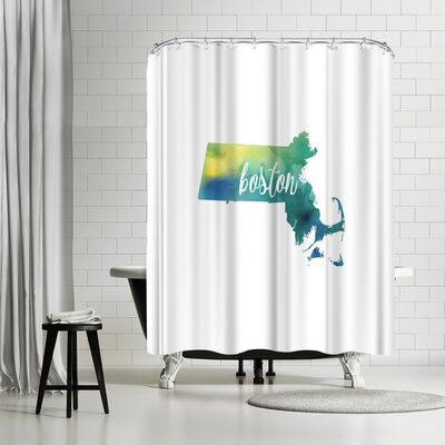 Paperfinch MA Boston Shower Curtain
