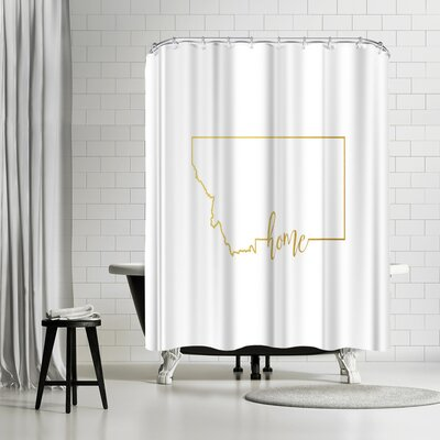 Paperfinch Montana Home Shower Curtain