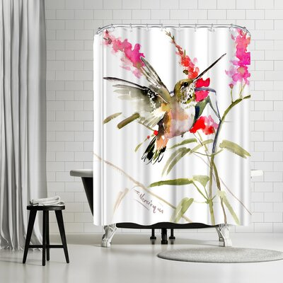 Suren Nersisyan Hummingbird Flyiong 2 Shower Curtain
