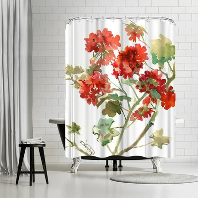 Suren Nersisyan Geranium 2 Shower Curtain