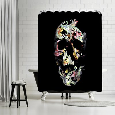 Ali Gulec Paisley D Shower Curtain