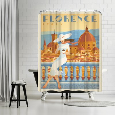 Anderson Design Group Italy Florence 2 Shower Curtain