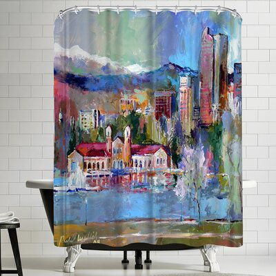 Richard Wallich Denver Shower Curtain