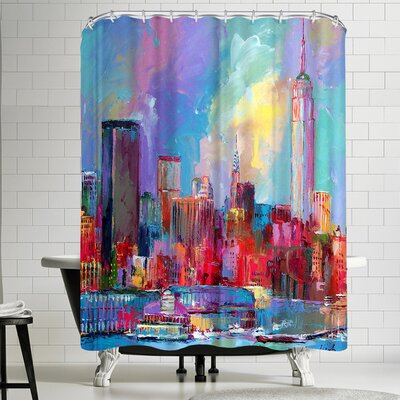 Richard Wallich Empire State Building Shower Curtain