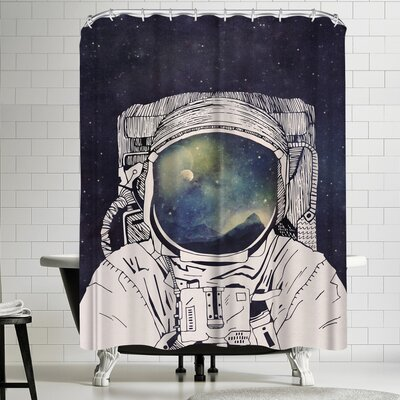 Tracie Andrews Dreaming of Space Shower Curtain