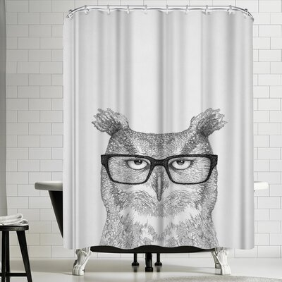 Tracie Andrews Earnest Shower Curtain