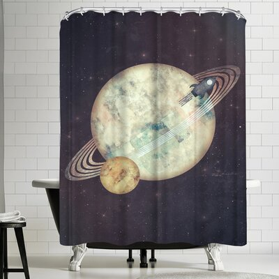 Exodus Shower Curtain