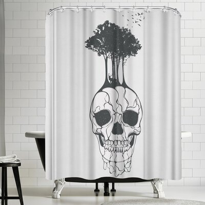 Tracie Andrews Fossil Shower Curtain
