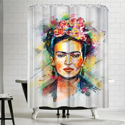 Tracie Andrews Frida Kahlo Shower Curtain