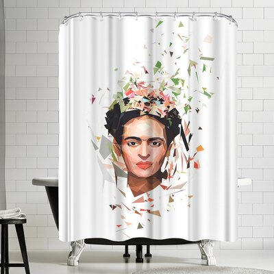 Tracie Andrews Frida Shower Curtain