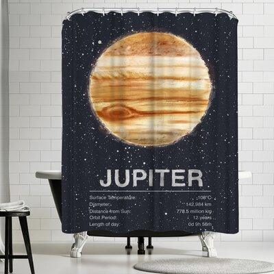 Tracie Andrews Jupiter Shower Curtain
