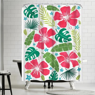 Tracie Andrews Kalia Shower Curtain