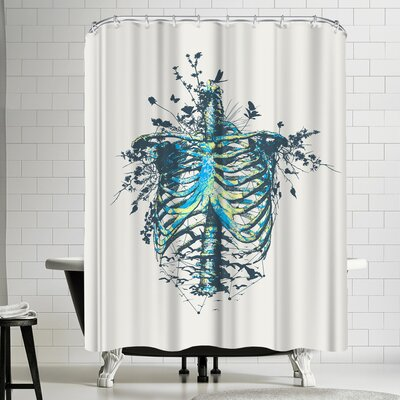 Tracie Andrews Keep Going Shower Curtain