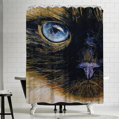 Michael Creese Burmese Cat Shower Curtain