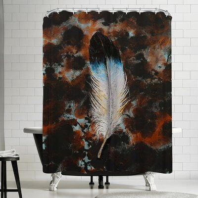 Michael Creese Feather Shower Curtain