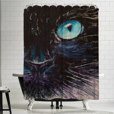 Michael Creese Himalayan Cat Shower Curtain